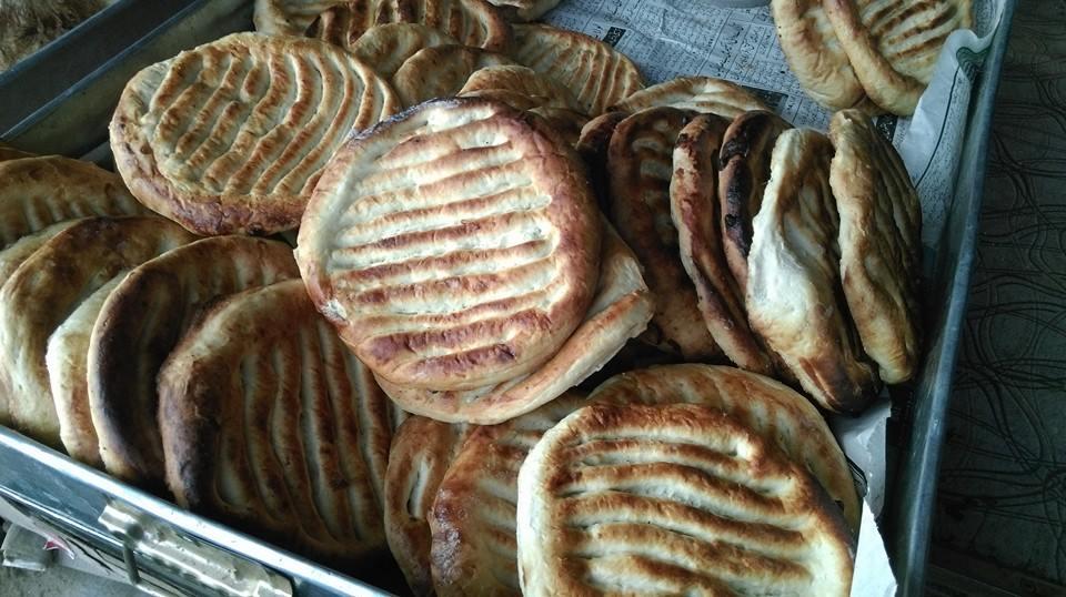 Kashmiri ghee roti