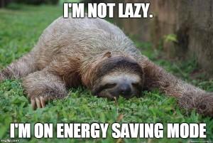 lazy in ramadan