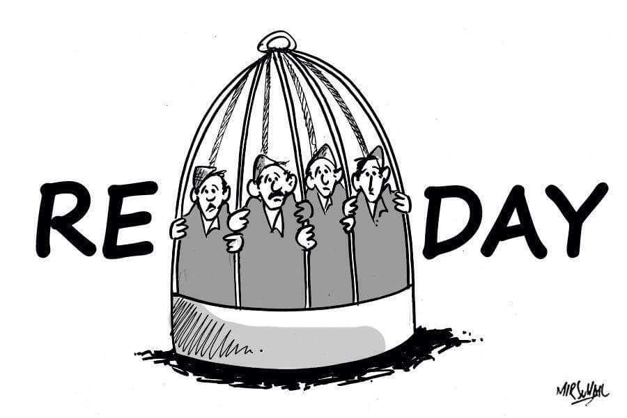 republic day caged