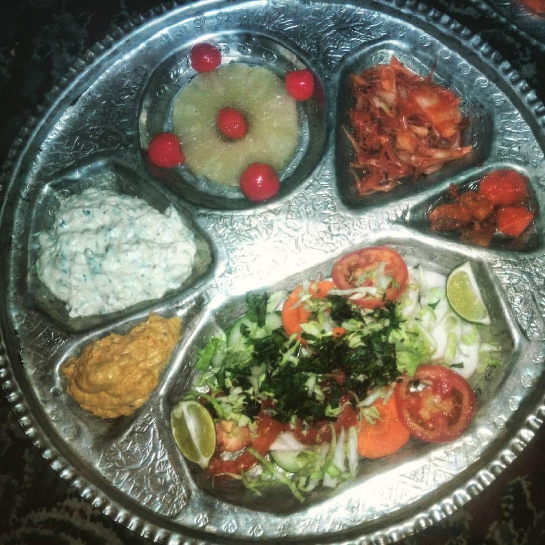 Kashmiri plate chutney