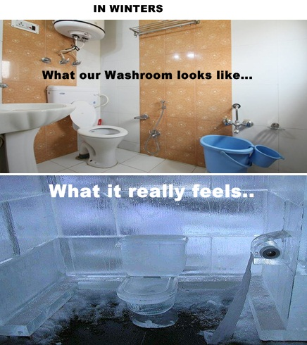 frozennn bathroom kashmir