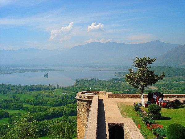 View From Pari Mahal