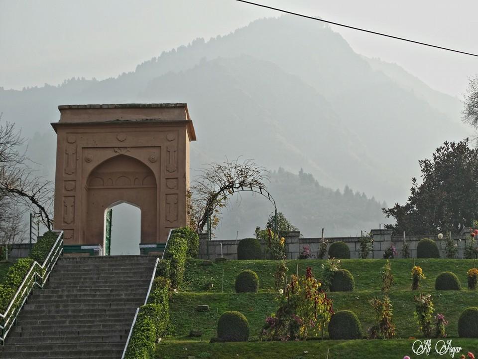 Chashme Shahi Entrance