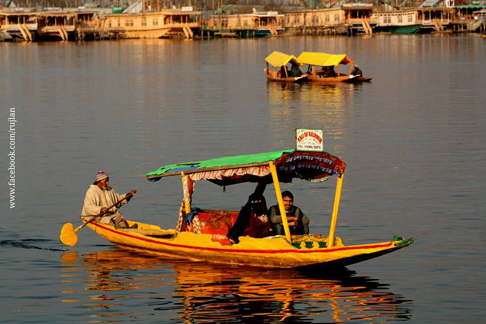 Shikara Ride In Kashmir