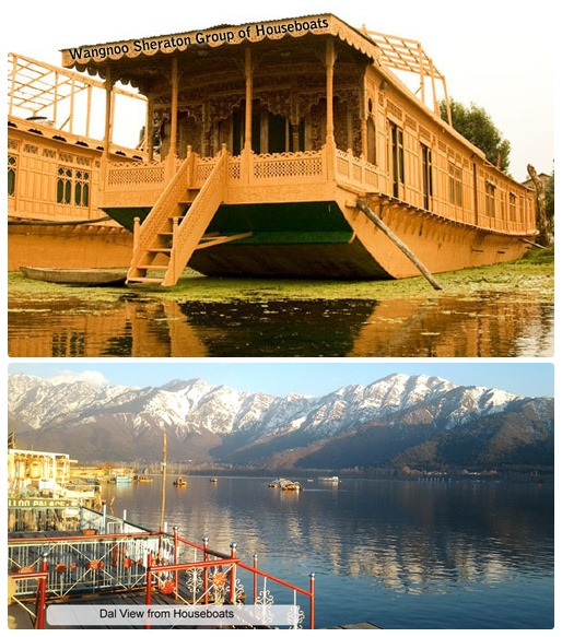 how to book a houseboat in srinagar kashmir